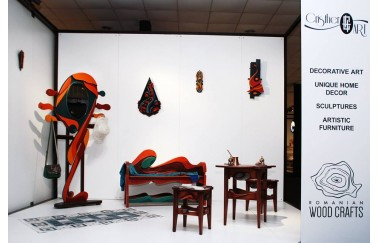 """ChristerArt exhibits to """"Istanbul Furniture Fair 2019 """""""